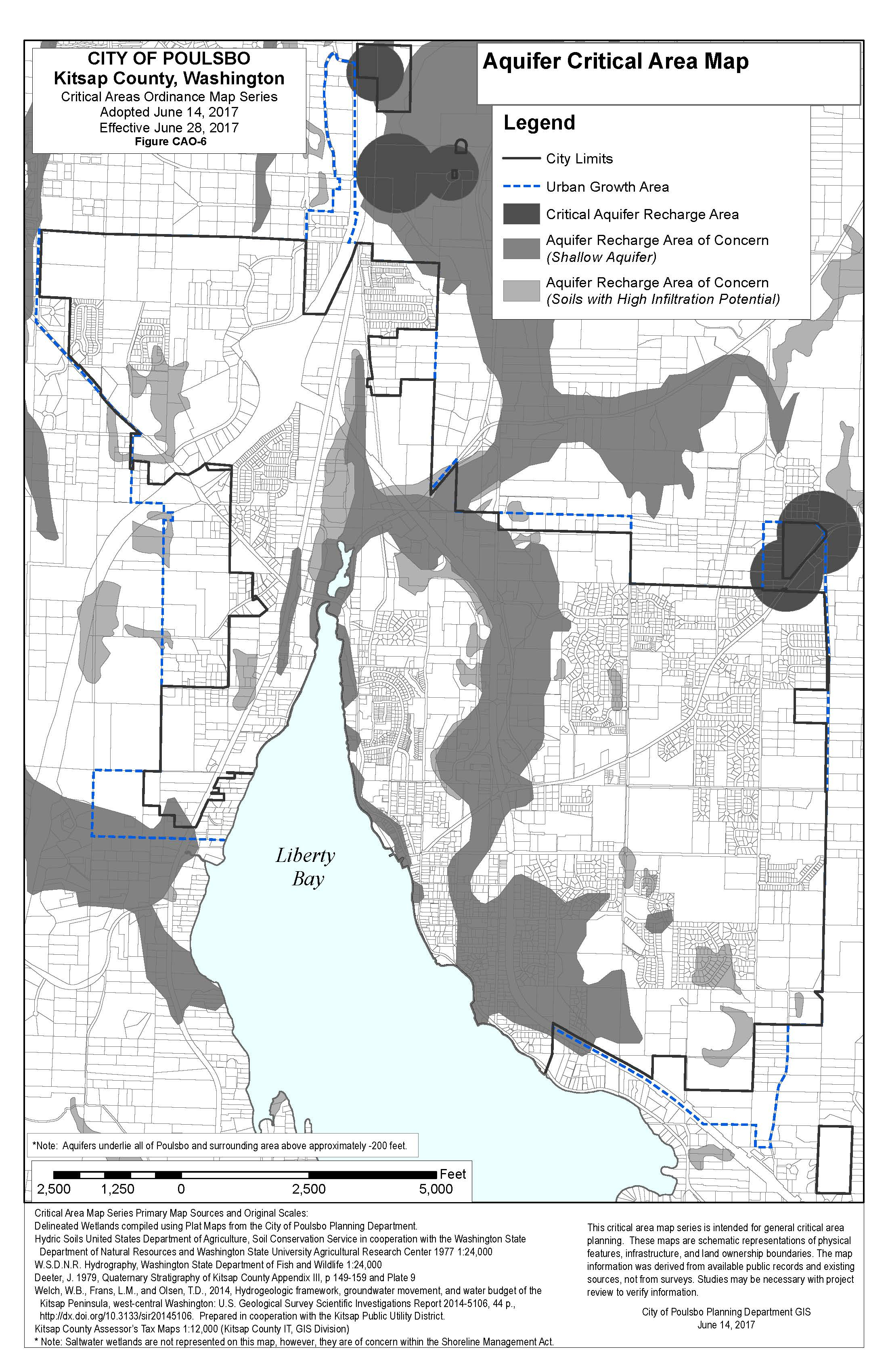 Codes Amendments Maps City Of Poulsbo 2nd Judicial Circuit Historical Society Aquifer Critical Area Map Cao Fig 6