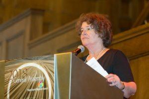 Mayor Becky Erickson
